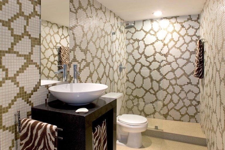 TREND mosaico pareti bagno