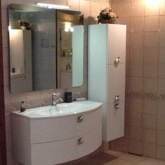 lavabo, specchiera