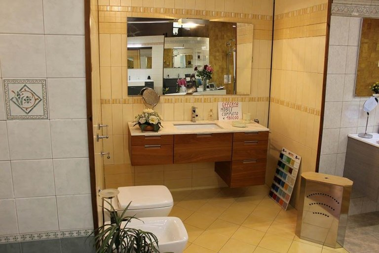 arredo bagno e sanitari