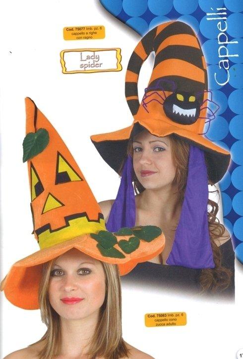 cappello halloween zucca
