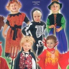 costume halloween bimbi, scheletri, festa delle streghe per piccoli