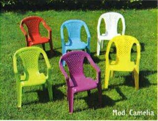 sedie bambini in colori assortiti