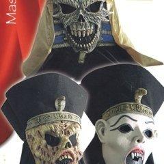 maschere egitto horror, feste, personaggio mostruoso