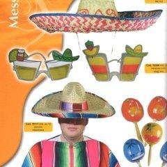 messicano, personaggio americano, sombrero