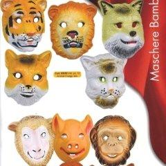 maschere animali, personaggio animale, maschere animali