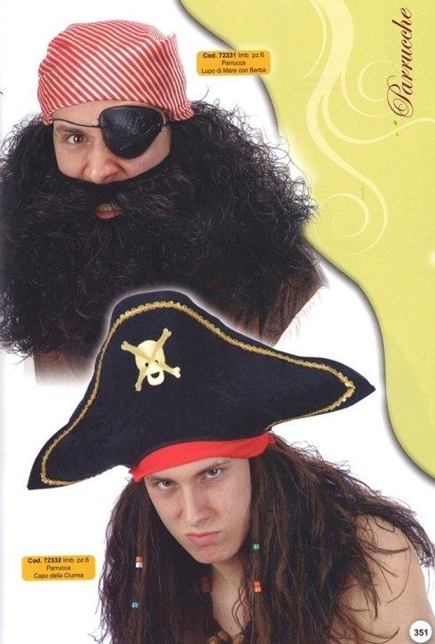 parrucche pirati