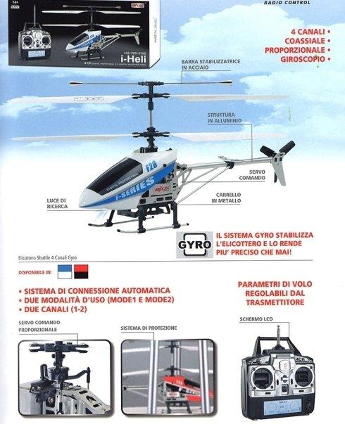 elicottero shuttle radio control
