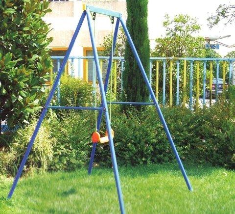altalena 1 posto, arredamento giardino, divertimento per bimbi
