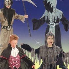 costumi mostri e zombie bambino, personaggio morte, tessuti comodi
