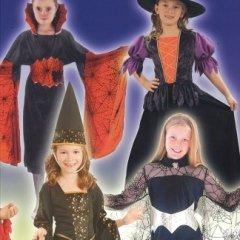 costumi strega bambina, festa anglosassone, divertimento halloween