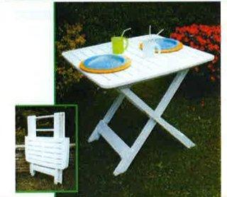 tavolo pieghevole per giardino