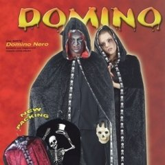 mantello con cappuccio domino, dolcetto o scherzetto, feste per ragazzi