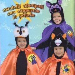 mantelli stampati con cappuccio in peluche per bambini, abiti costume tenebra, costume tradizione