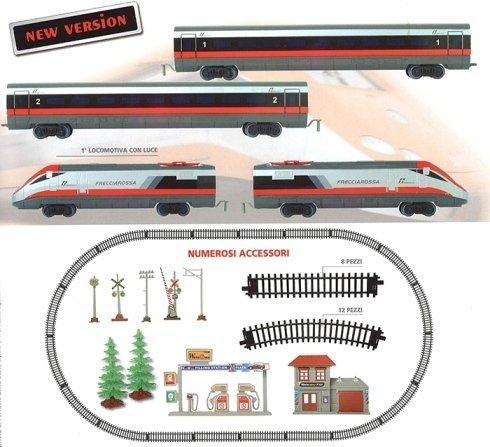 treno freccia rossa a batteria