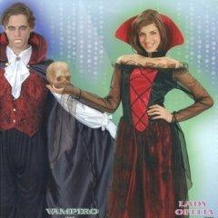costume vampiro, vampiro donna, succhia sangue