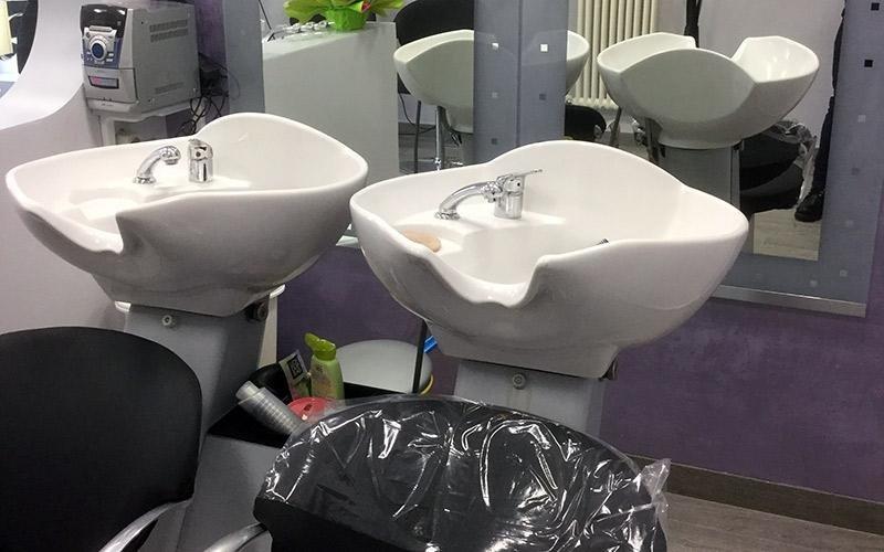 Postazioni shampoo