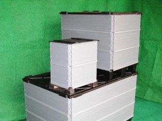 box Plasticollar con coperchi
