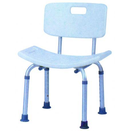 Sedia ortopedica azzurra