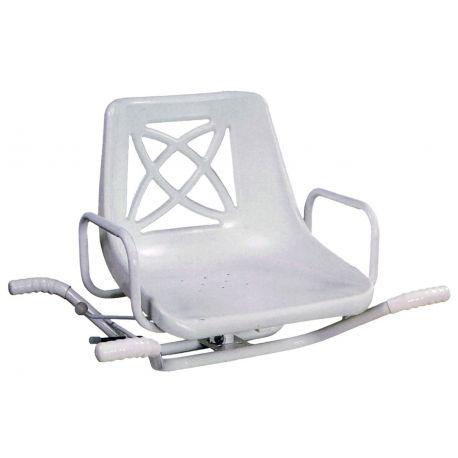 Sedia ortopedica bianca