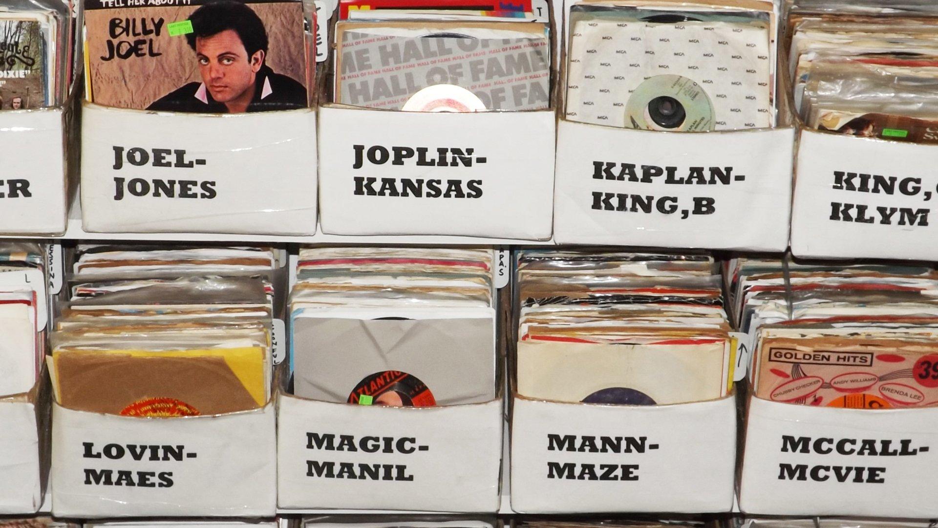 record store Albany, NY