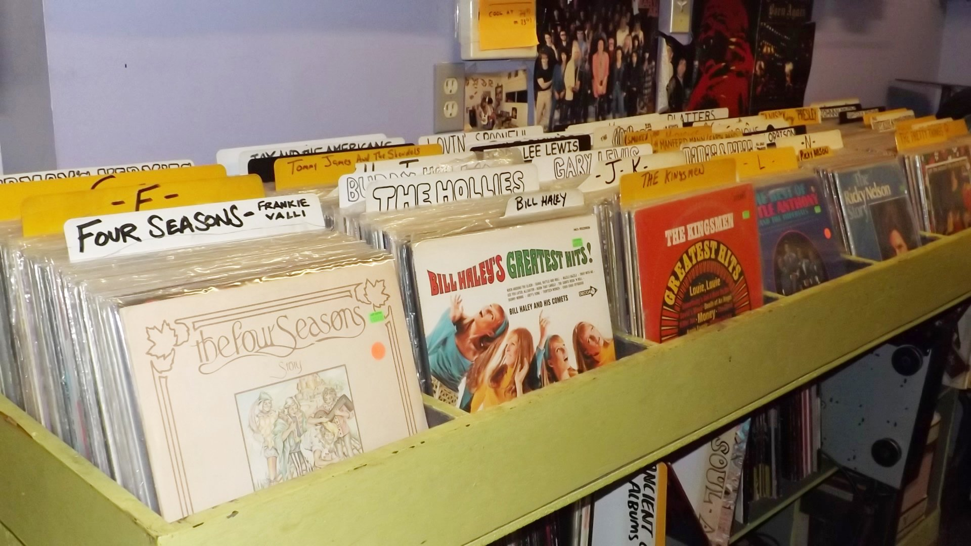 Record Store in Troy, NY