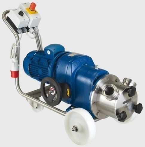 Self-priming electric pumps