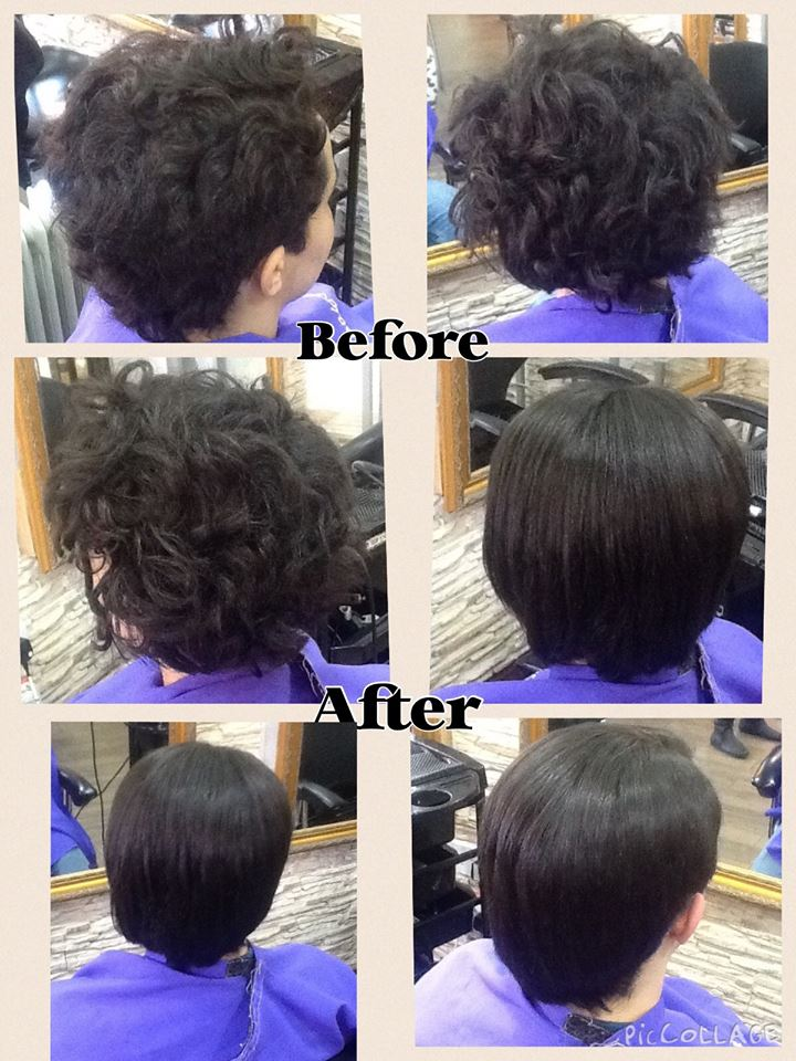 New Permanent Hair Straightening System