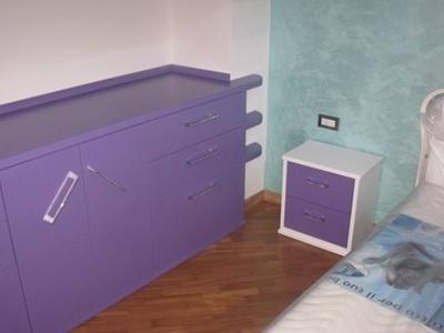 Cassettiera camera da letto - Falegnameria Tutto Legno