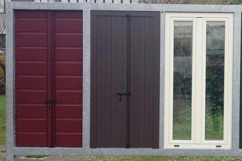 persiane e finestre in alluminio varie colorazioni
