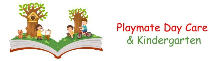 playmate day care and kindergarten logo