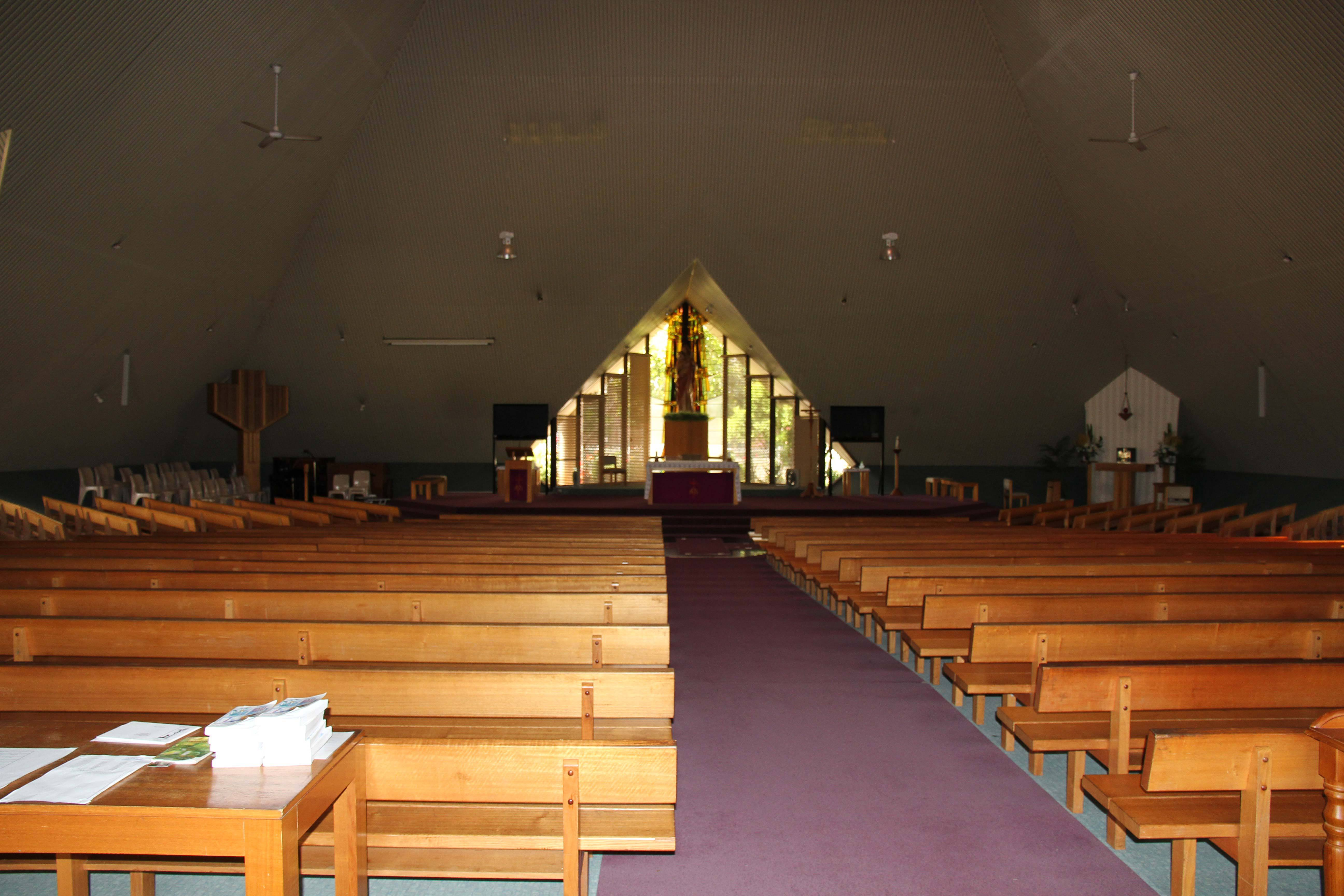 Interior of The Good Shepherd Parish