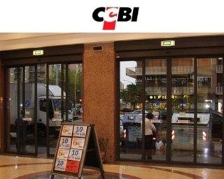 Porte automatiche centro commerciale
