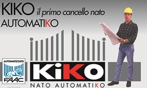 Il primo cancello automatico Kiko