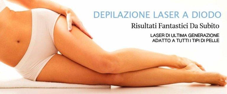 depilazione laser a diodo