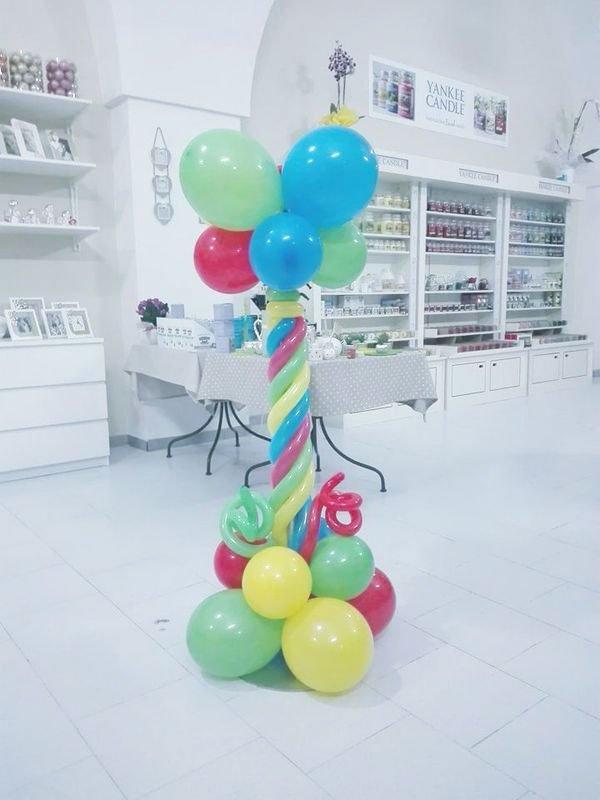 palloncini intrecciati insieme