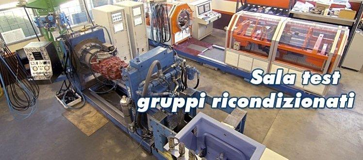 Officine Ricci - Sala Test Cambi Automatici Ricondizionati
