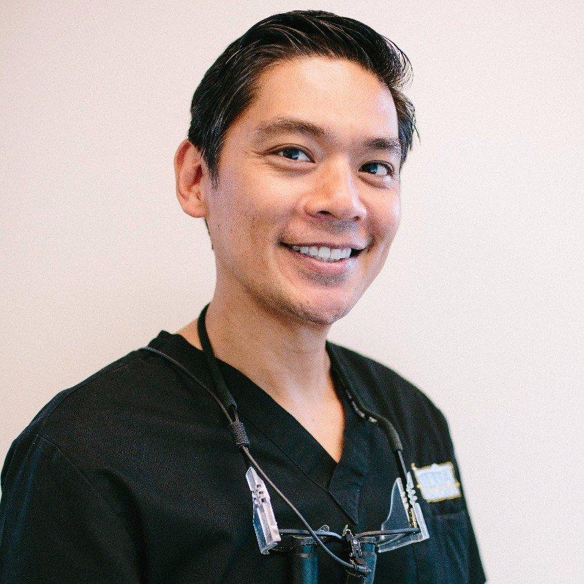 Dr. Jeffrey Sonson, head of the Kailua Dental Care team