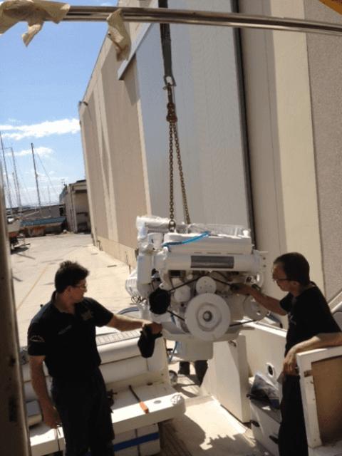 officine mobili, manutenzione barche, manutenzione motori barche