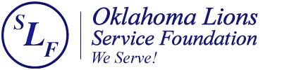 Oklahoma Lions State  Service Foundation logo
