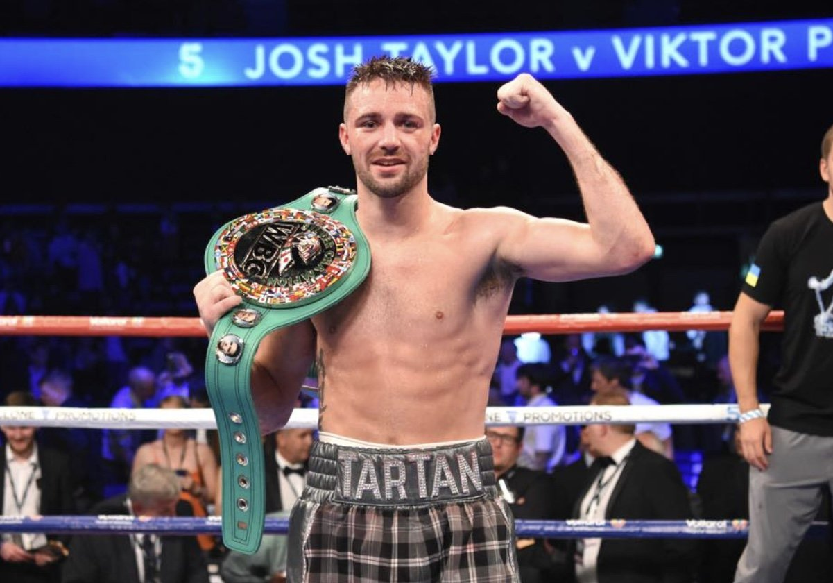 Super-Lightweight Sensation Josh Taylor Picks Up BBBofC Boxer Of The Year  Award
