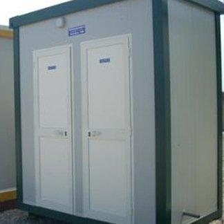 modulo WC doppio ad uso pubblico
