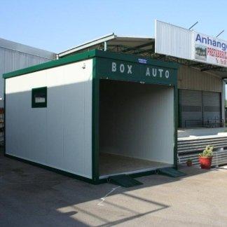 Box prefabbricati per auto