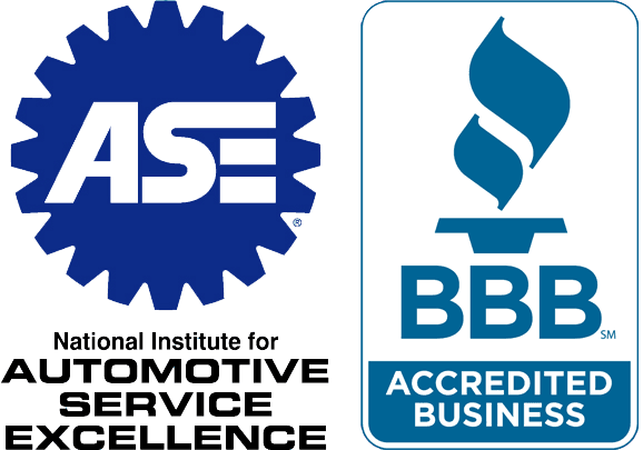Our company is accredited by the BBB and the ASE