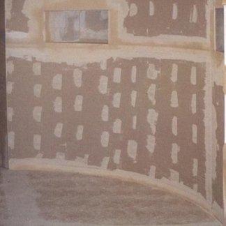 parete curva in cartongesso