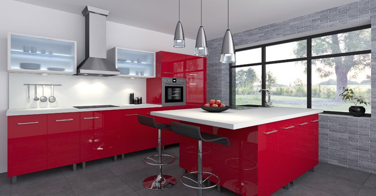 Part of our kitchen renovations in Wollongong