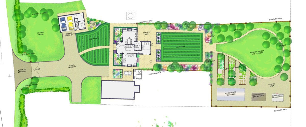 garden designer in staffordshire - Garden Design Drawing
