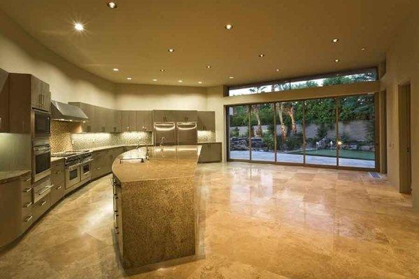 pavimenti in marmo lucido