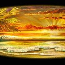 This DM original surfboard is 12