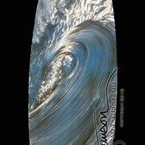 This DM original surfboard is 18