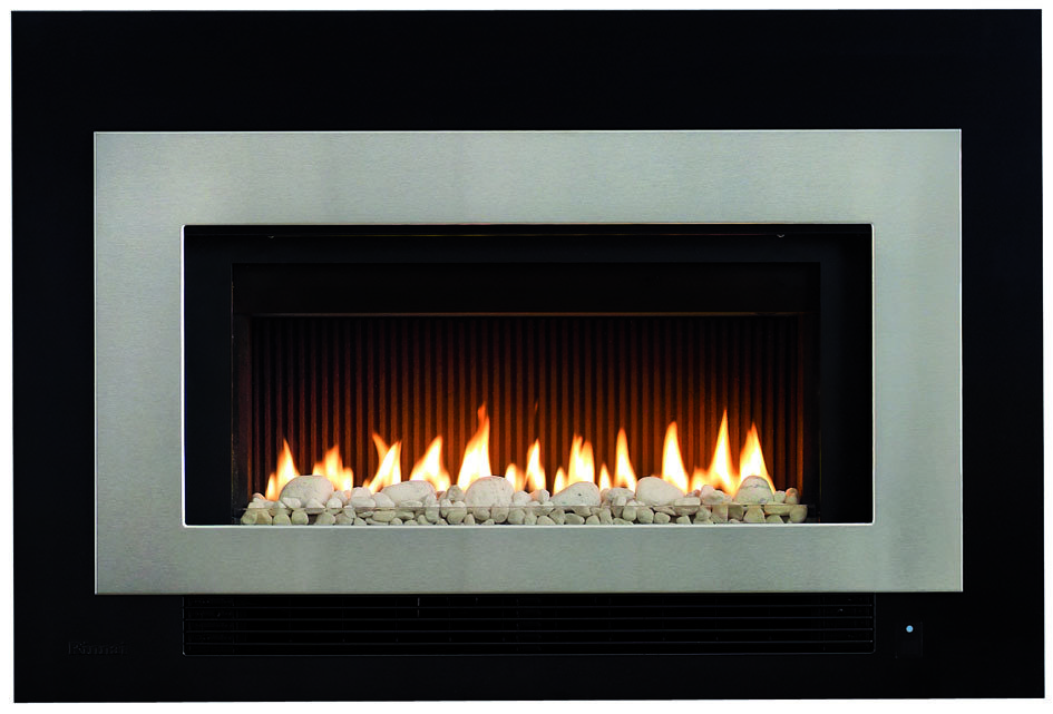 rinnai gas log fire